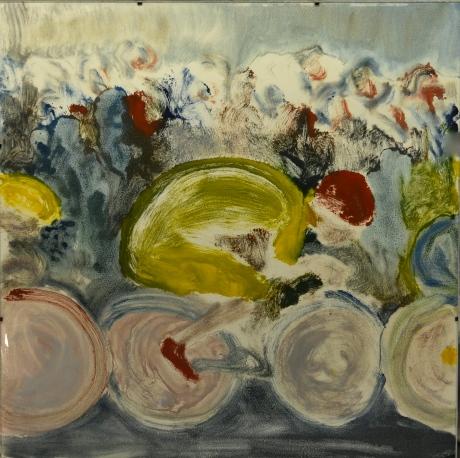 Full rulle, monotypi, 2007, privat ägo