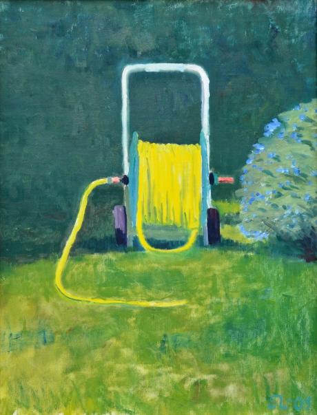 Slangen, olja, 2005, privat ägo