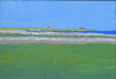Gotlandsfärger, olja, 2005, privat ägo