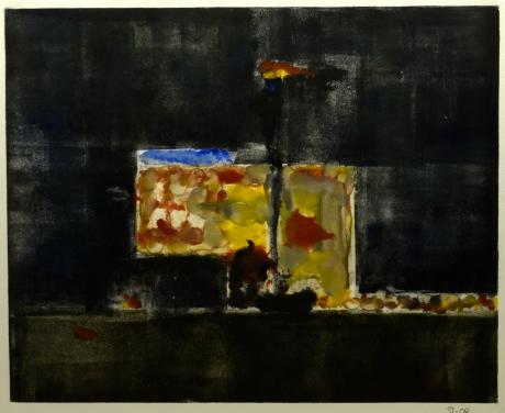 Värmeverket, monotypi, 2008