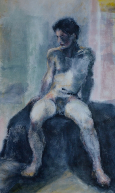 Modellmålning, akryl, 2012