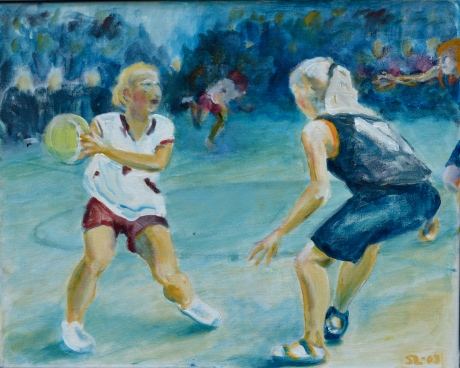 Finten, akryl, 2008