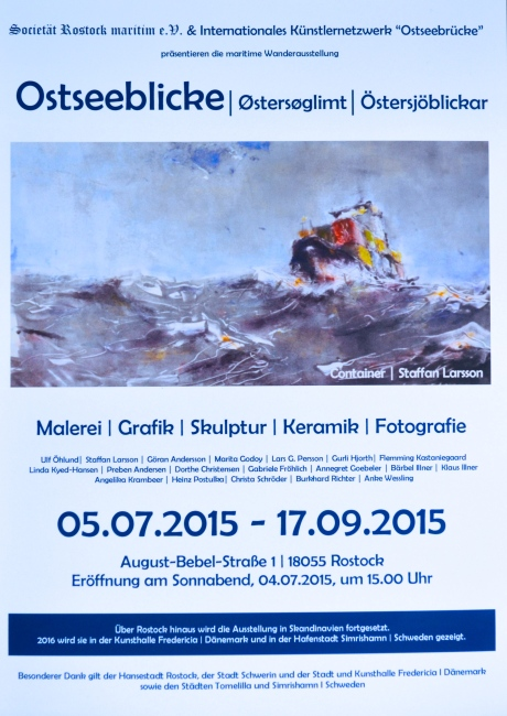 Affisch, Rostock