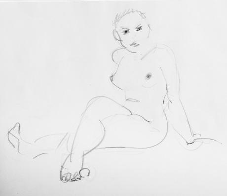 Skarp blick, Kroko, blyerts, 2015