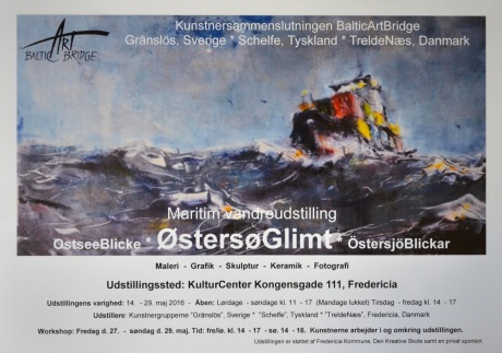 Affisch, Fredricia, Danmark, 2016
